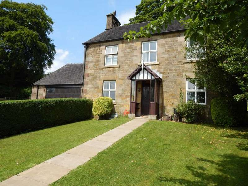 3 Bedrooms Detached House for sale in Longnor, Buxton