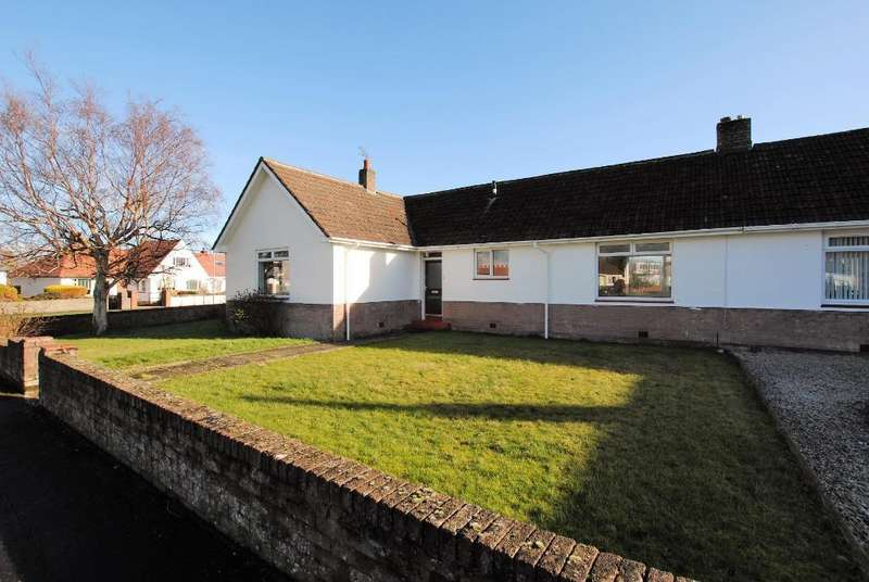 3 Bedrooms Semi Detached House for sale in Hunter Crescent, Troon, South Ayrshire, KA10 7AH
