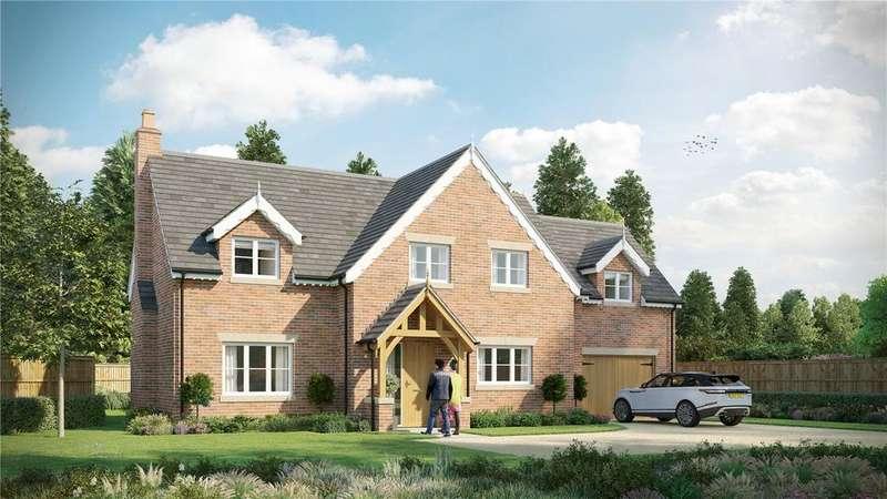 4 Bedrooms Detached House for sale in Brooms Lane, Kelsall, Tarporley, Cheshire