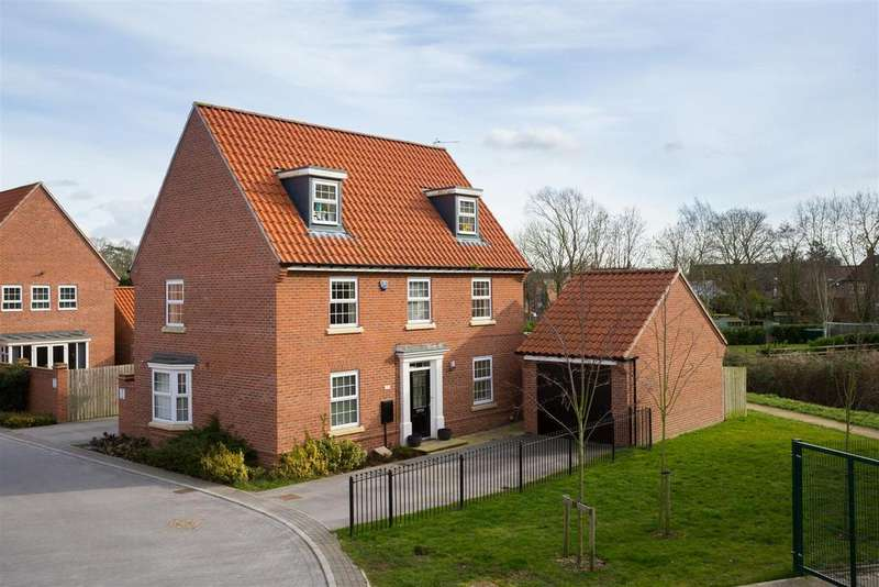 5 Bedrooms Detached House for sale in Fossview Close, Strensall, York