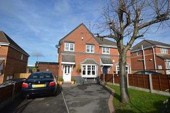 3 Bedrooms Semi Detached House for sale in Coleridge Close, Sandbach, Cheshire, CW11 3NN