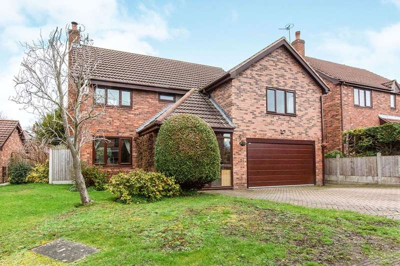 5 Bedrooms Detached House for sale in Wellington Close, Congleton, CW12