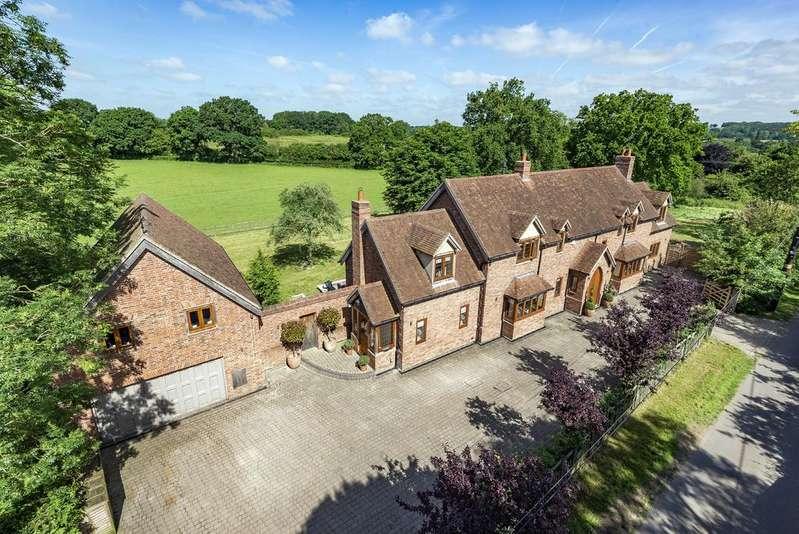 5 Bedrooms Detached House for sale in Preston Fields Lane, Preston Bagot, Henley In Arden, B95