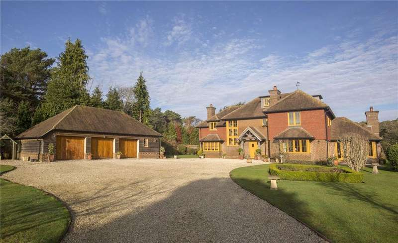 6 Bedrooms Detached House for sale in Sandy Down, Boldre, Lymington, Hampshire, SO41