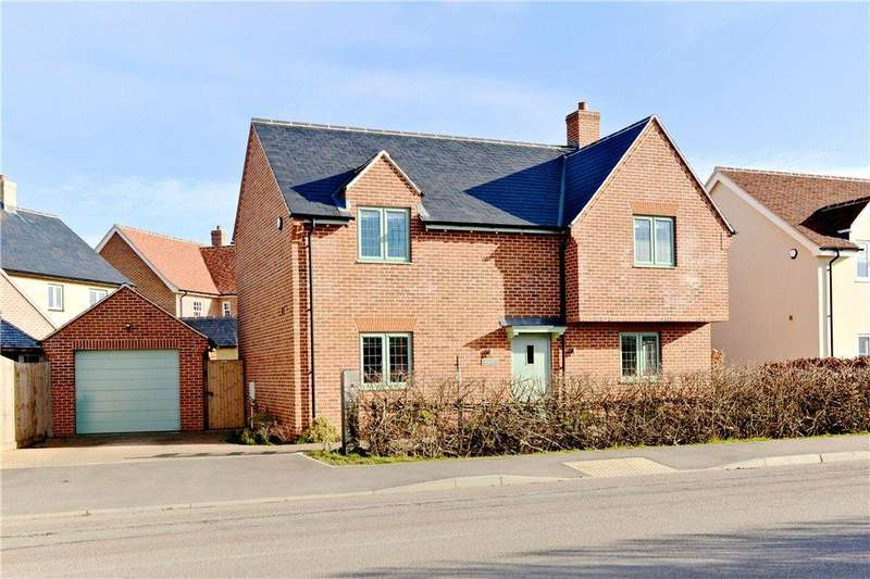 4 Bedrooms Detached House for sale in Lodge Road, Cranfield, Bedfordshire