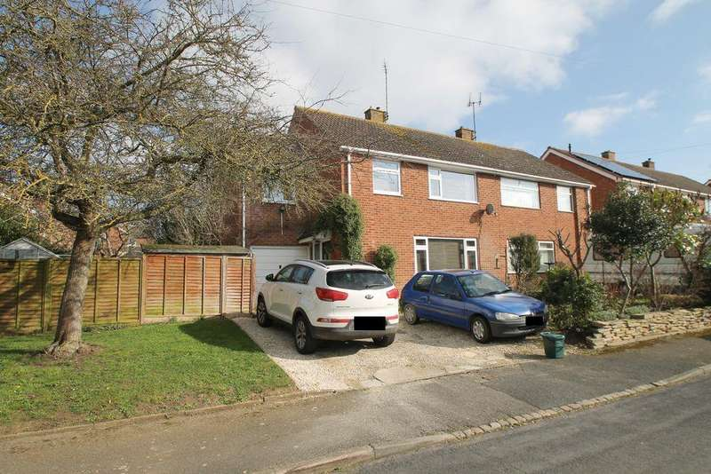 4 Bedrooms Semi Detached House for sale in Derwent Drive, Mitton, Tewkesbury