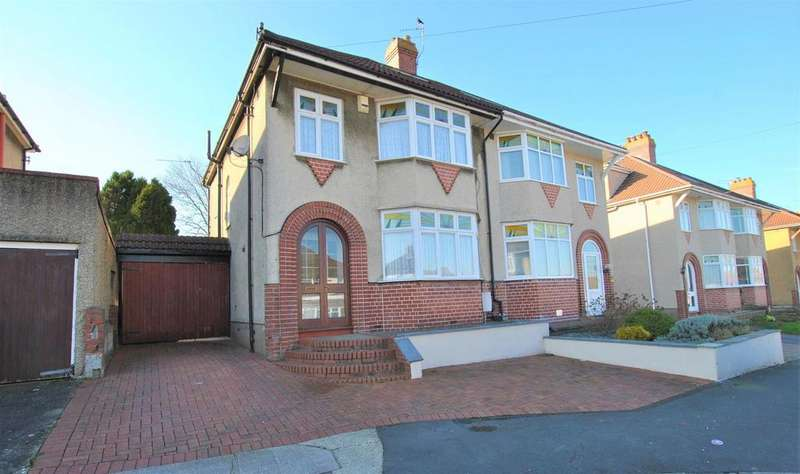 3 Bedrooms Semi Detached House for sale in Kinsale Road, Whitchurch, Bristol