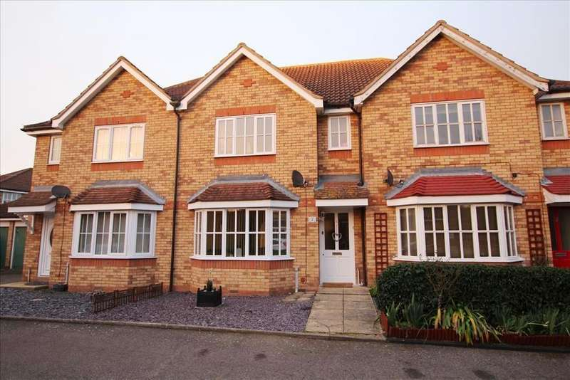 3 Bedrooms Terraced House for sale in Meadow Close, Beeston, SG19