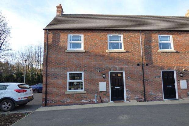 3 Bedrooms End Of Terrace House for sale in Theodore West Way, Louth, LN11