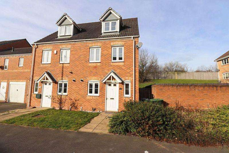 3 Bedrooms Semi Detached House for sale in Bean Drive, Tipton