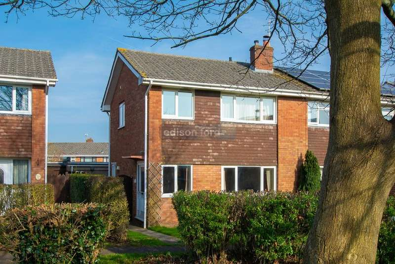 3 Bedrooms Semi Detached House for sale in Mallard Close, Chipping Sodbury, Bristol, BS37