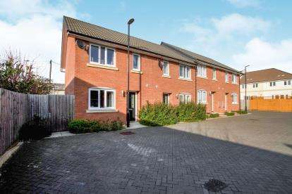 2 Bedrooms End Of Terrace House for sale in The Tileyard, Speedwell, Bristol