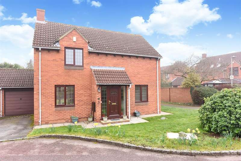4 Bedrooms Link Detached House for sale in Allonby Close, Lower Earley, Reading, RG6
