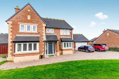 4 Bedrooms Detached House for sale in Pennyman Green, Maltby, Middlesbrough