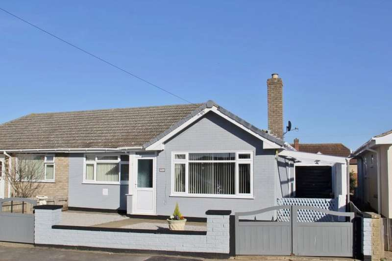 2 Bedrooms Semi Detached Bungalow for sale in Arden Close, Mablethorpe, LN12