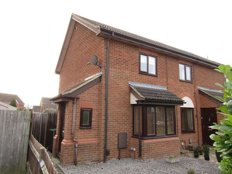 2 Bedrooms End Of Terrace House for sale in Ramerick Gardens, , Arlesey, SG15