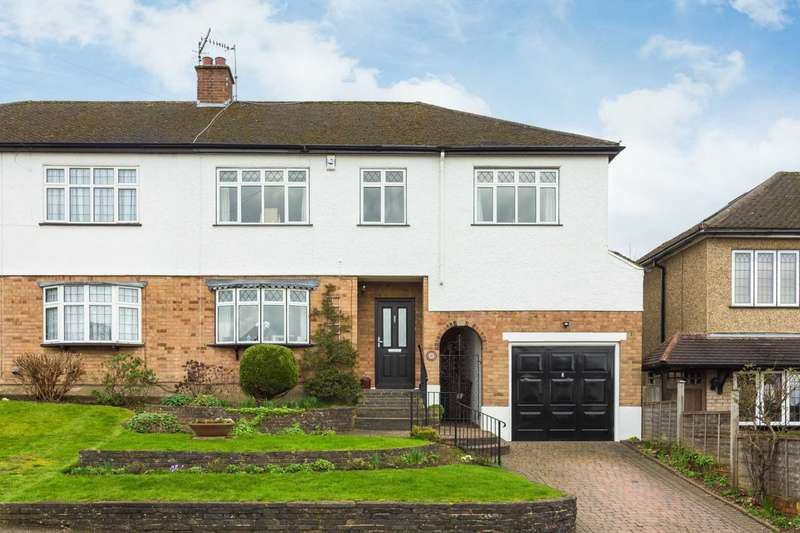 5 Bedrooms Semi Detached House for sale in Coombe Road, Bushey Heath