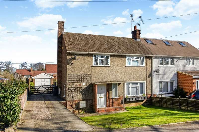 2 Bedrooms Semi Detached House for sale in Park Crescent, Sunningdale