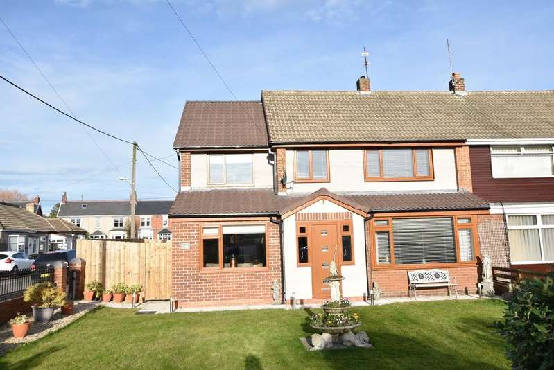 4 Bedrooms Semi Detached House for sale in Langholm Road, East Boldon