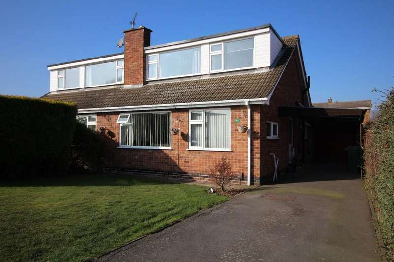 4 Bedrooms Semi Detached House for sale in Leconfield Road, Loughborough