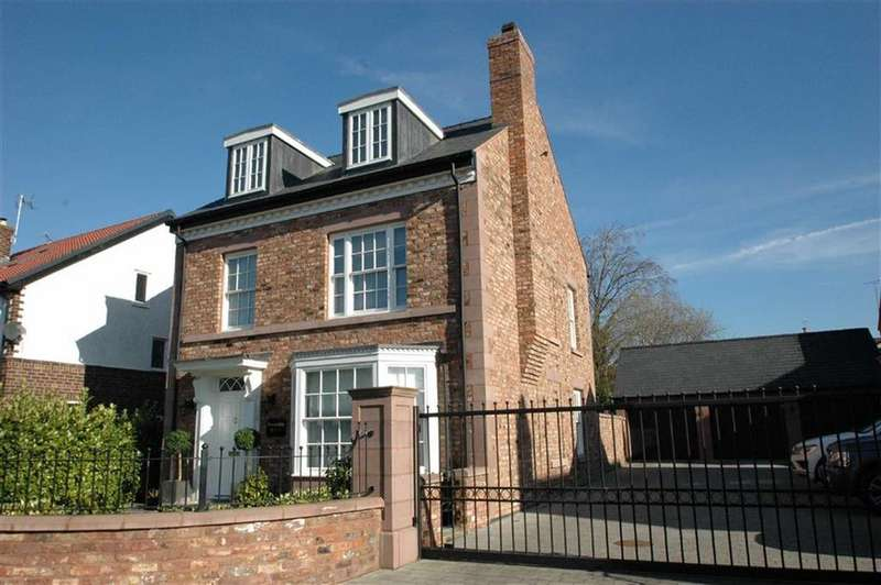 4 Bedrooms Detached House for sale in Knowsley Road, Hoole, Chester
