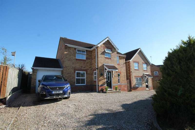 4 Bedrooms Detached House for sale in Inglenook Close, Crook