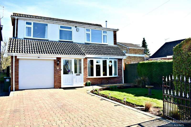 3 Bedrooms Detached House for sale in The Meadow, Caistor, Market Rasen, Lincolnshire, LN7