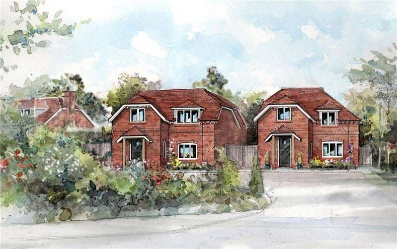 4 Bedrooms Detached House for sale in Deacons Lane, Hermitage, Thatcham, Berkshire, RG18