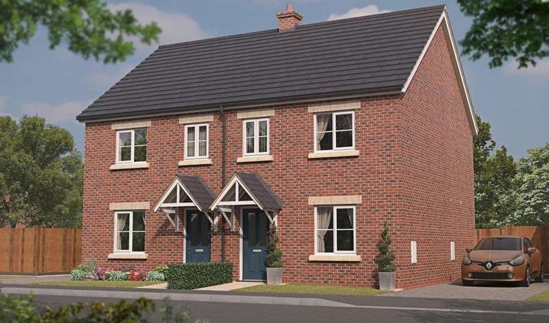 3 Bedrooms Semi Detached House for sale in Bradley, Plot 115 Tuplin Road, Mablethorpe