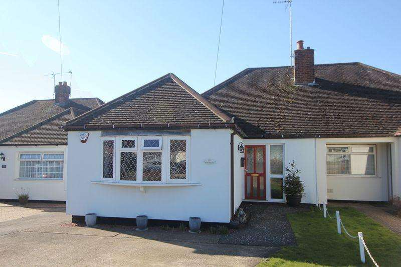 3 Bedrooms Semi Detached Bungalow for sale in Elm Avenue, Luton