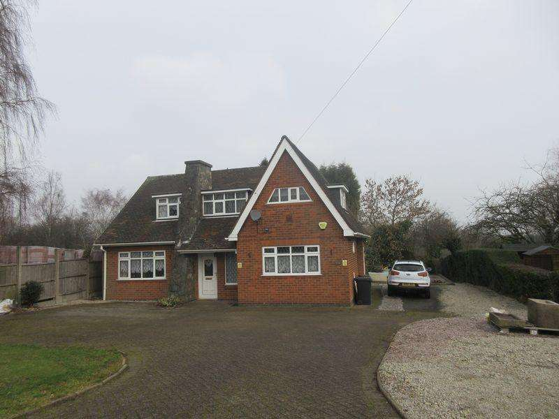 3 Bedrooms Detached House for sale in Ashby Road, Coalville