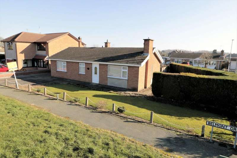 3 Bedrooms Detached Bungalow for sale in Belmont Drive, Coalville