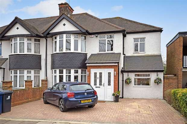 5 Bedrooms Semi Detached House for sale in Whitton Avenue East, GREENFORD, Middlesex