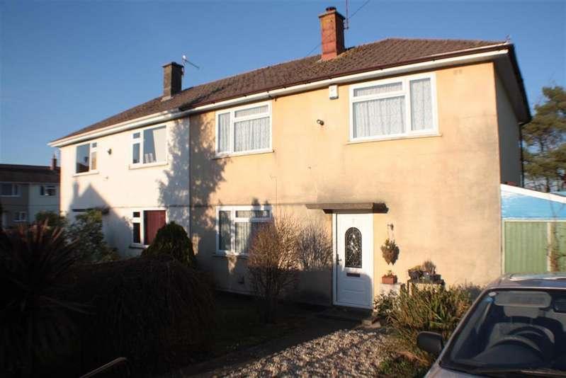 3 Bedrooms Semi Detached House for sale in Dangerfield Avenue, Highridge, Bristol, BS13 8DS