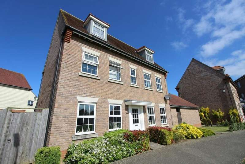 5 Bedrooms Detached House for sale in Russell Close, Witham, Essex, CM8