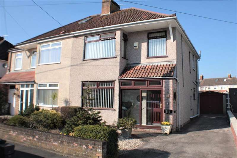 3 Bedrooms Semi Detached House for sale in Kings Walk, Uplands, Bristol, BS13 8AX