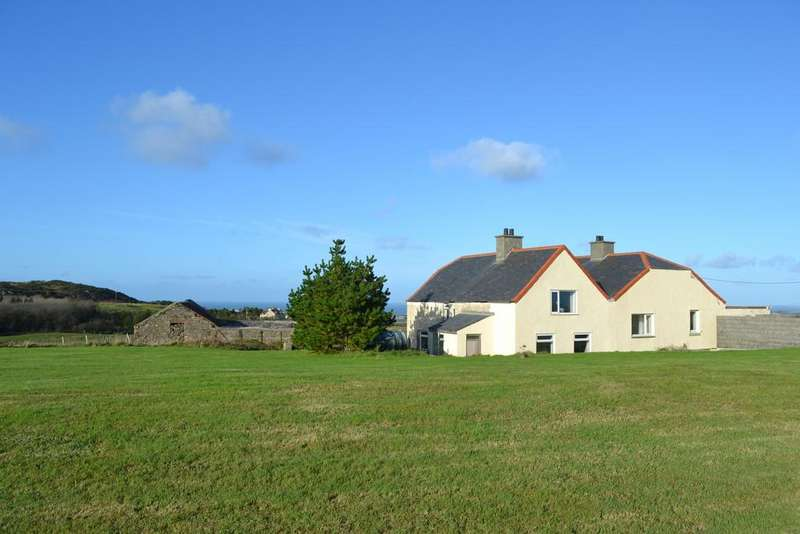 4 Bedrooms Detached House for sale in Llanrhyddlad, Holyhead, North Wales
