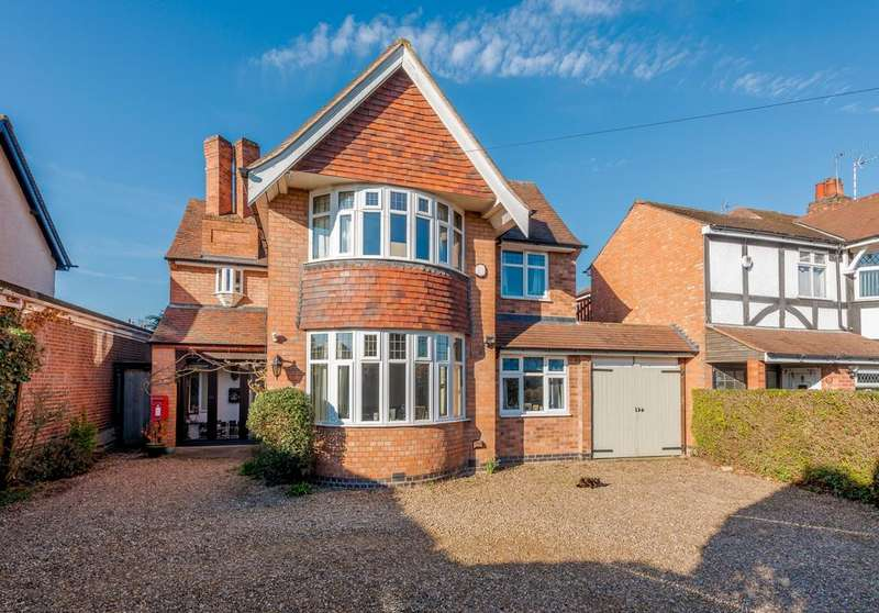 4 Bedrooms Detached House for sale in Walnut Avenue, Birstall, Leicestershire, LE4