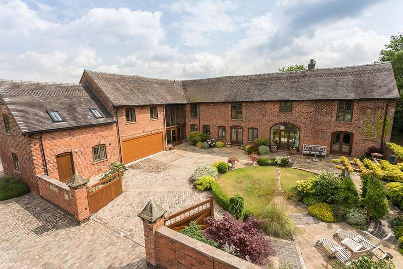 5 Bedrooms Barn Conversion Character Property for sale in Smithy Lane, Hulme Walfield, Congleton