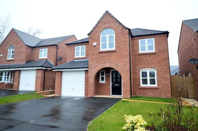 4 Bedrooms Detached House for sale in Shepherds Fold, Chester Road, Preston Brook