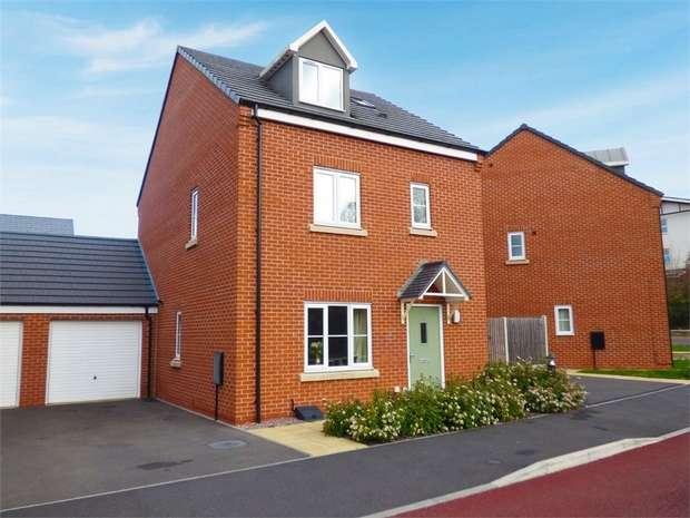 4 Bedrooms Link Detached House for sale in Nightingale Walk, Lightmoor, Telford, Shropshire