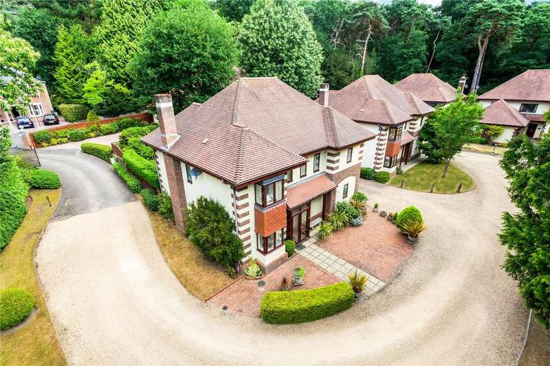4 Bedrooms Detached House for sale in The Green, Branksome Hill Road, Bournemouth, Dorset, BH4