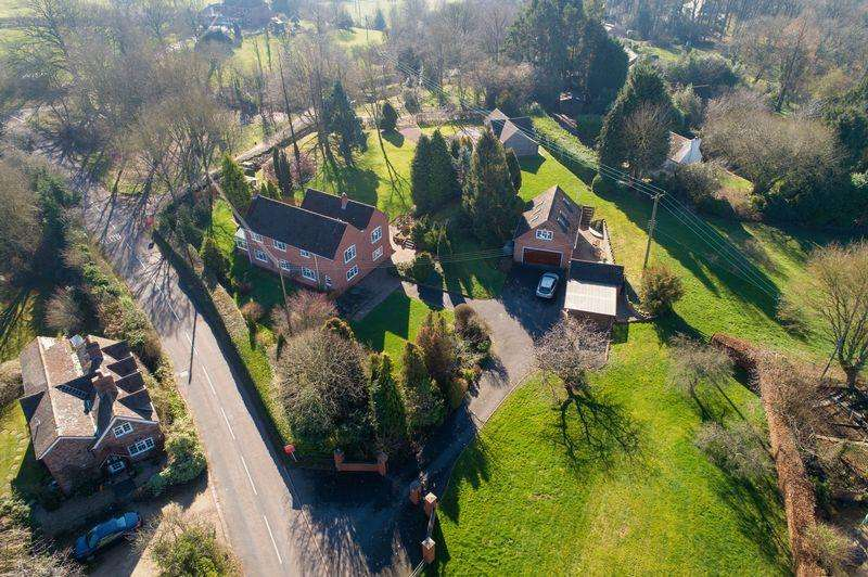 4 Bedrooms Detached House for sale in Trimpley Lane, Shatterford, Bewdley DY12 1RJ