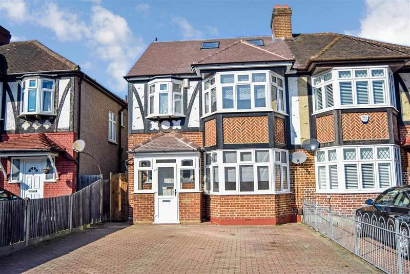 4 Bedrooms Semi Detached House for sale in London Road, Morden