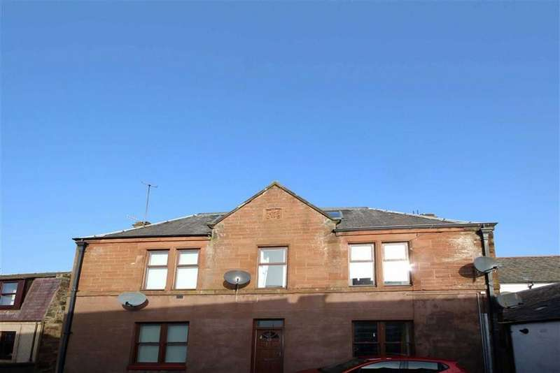 2 Bedrooms Flat for sale in 63A, High Street, Strathmiglo, Fife, KY14