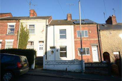 4 Bedrooms Terraced House for sale in Rutland Road, Chesterfield, Derbyshire