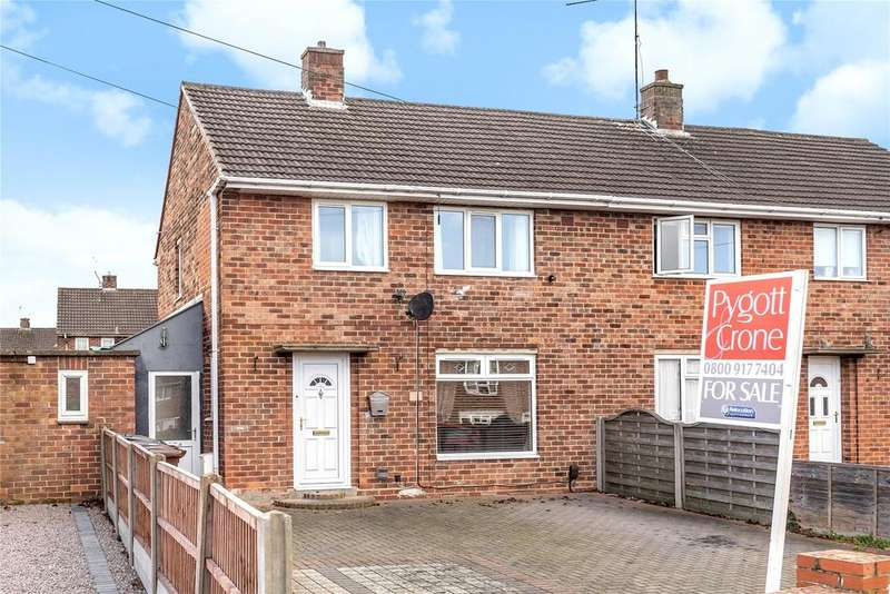 3 Bedrooms Semi Detached House for sale in Brattleby Crescent, Lincoln, LN2