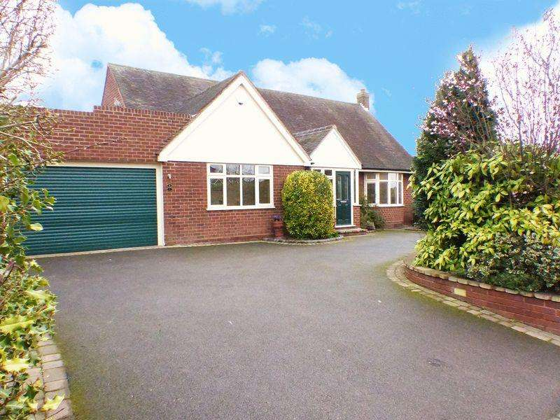 4 Bedrooms Detached Bungalow for sale in Cannock Road, Burntwood