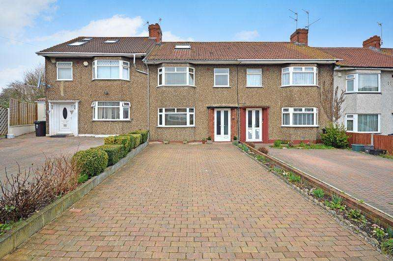 4 Bedrooms Terraced House for sale in Walsh Avenue, Hengrove, Bristol