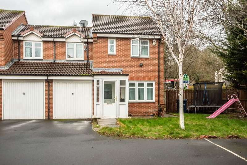 3 Bedrooms Semi Detached House for sale in The Covers, Swalwell, Newcastle Upon Tyne, NE16